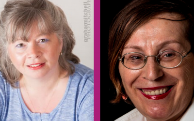 Introducing the presenters – Suzie Mosson  and Dalila Bellometti