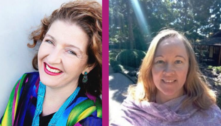 Intoducing the presenters – Annette Eriksen and  Renée McDonald